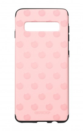 Cover Skin Feeling Samsung S10 Plus PINK - Pois