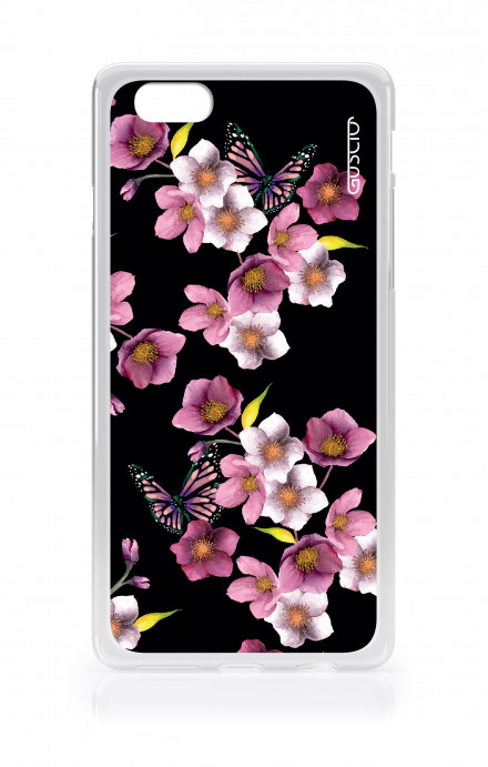 Cover TPU Apple iPhone 6/6s plus  - Fiori di ciliegio