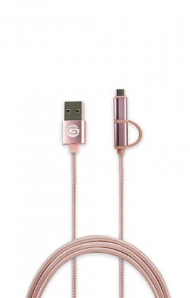 Data Cable Type-C/Micro USB Pink - Neutro