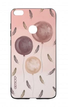 Cover Bicomponente Huawei P8Lite 2017 - 3 Palloncini rosa