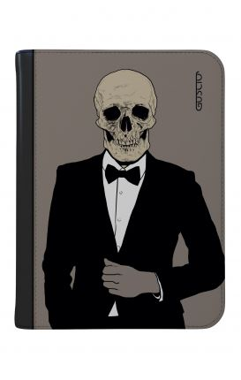"""Cover Universal Tablet Case per 9/10"""" display - Teschio in Smoking"""