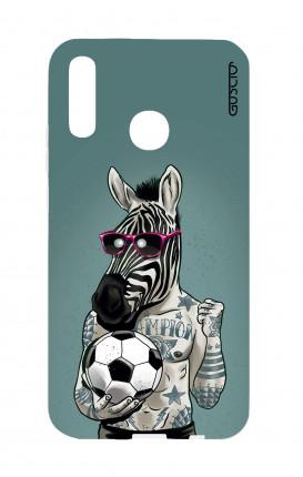 Cover TPU Huawei P Smart 2019 - Zebra