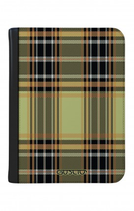 "Case UNV TABLET 9-10"" WHT/BLK - Yellow tartan"