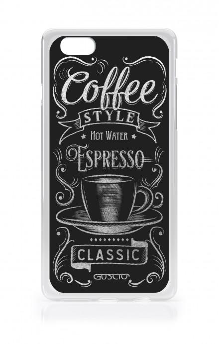 Cover TPU Apple iPhone 7/8 Plus - Coffee Style