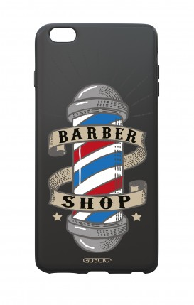 Cover Bicomponente Apple iPhone 6/6s - Barber Shop nero