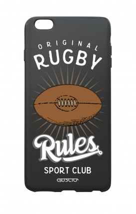 Cover Bicomponente Apple iPhone 6/6s - Rugby Rules nero