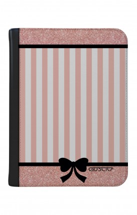 "Case UNV TABLET 9-10"" WHT/BLK - Romantic pink"