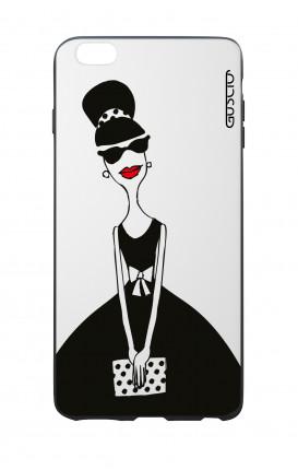 Cover Bicomponente Apple iPhone 6 Plus - Signora con borsetta