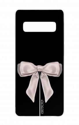 Cover Samsung S10 - Satin White Ribbon