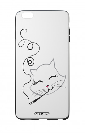 Apple iPhone 6 PLUS WHT Two-Component Cover - Kitty smoke