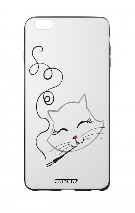 Cover Bicomponente Apple iPhone 6 Plus - Gattina che fuma