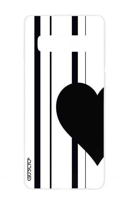 Cover Samsung S10 - Half Heart