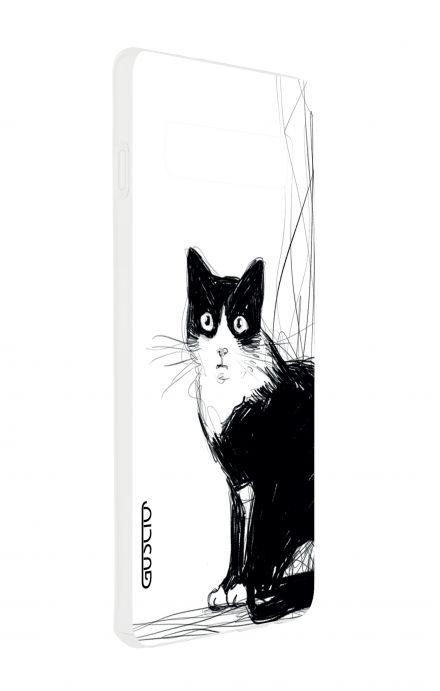 Cover Samsung S10 - B&W CAT