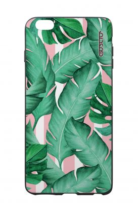 Apple iPhone 6 PLUS WHT Two-Component Cover - Banano Leaves Pattern