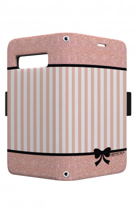 Case STAND VStyle EARS Samsung S10 - Romantic pink