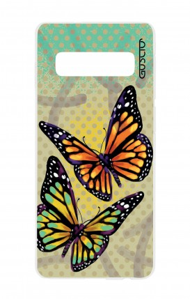 Cover Samsung S10 - Polka dot and butterflies