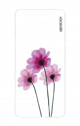 Cover Samsung S10 - Fiori su bianco