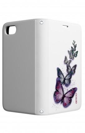 Cover STAND Apple iphone 5/5s/SE - Volo di farfalle