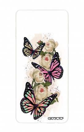 Cover Samsung S10 - Butterflies white
