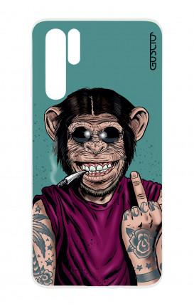 Cover TPU HUAWEI P30 PRO - Scimmia felice