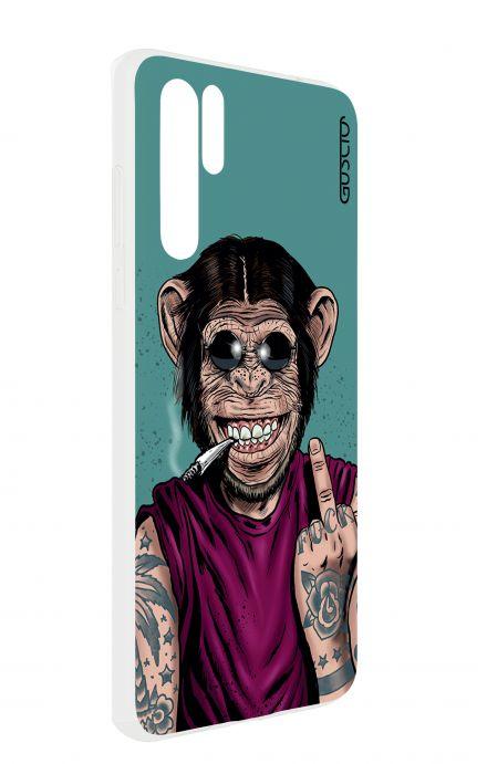 Cover HUAWEI P30 PRO - Monkey's always Happy
