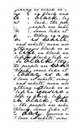 Cover HUAWEI P30 PRO - Scritte in bianco e nero