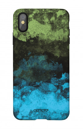 Soft Touch Case Apple iPhone XR - Mineral Black Lime