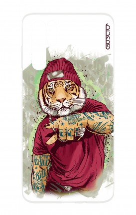 Cover HUAWEI P30 PRO - WHT Hip Hop Tiger