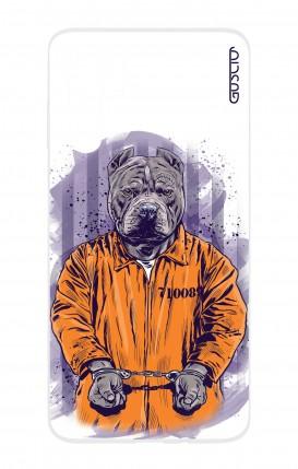 Cover HUAWEI P30 PRO - Cane carcerato bianco
