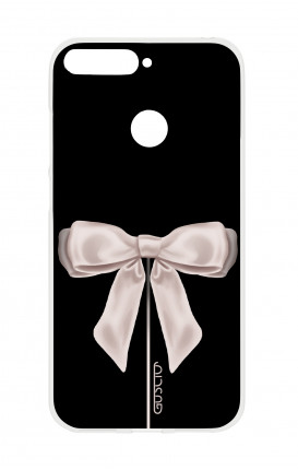 Cover HUAWEI P SMART - Satin White Ribbon