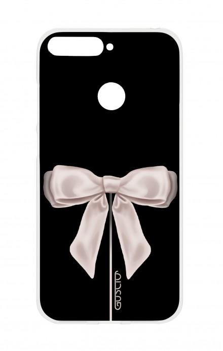 Cover HUAWEI P SMART - Satin White Ribbon