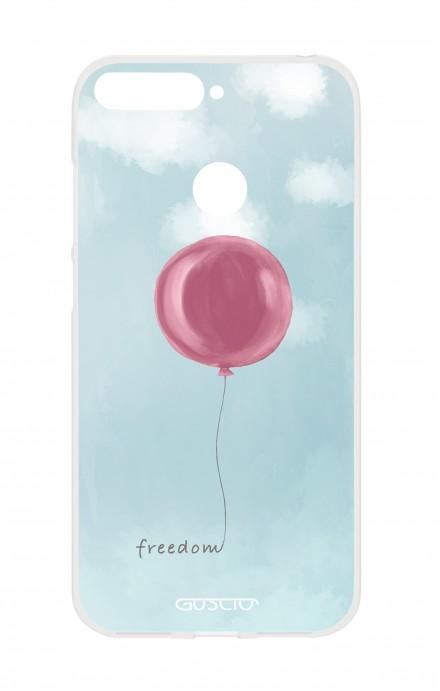 Cover TPU HUAWEI P SMART - palloncino della libertà