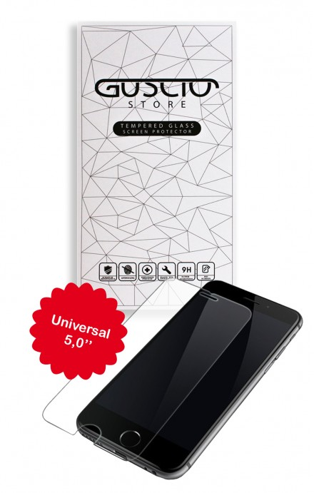 "Tempered Glass Universal 5,0"" - Neutro"