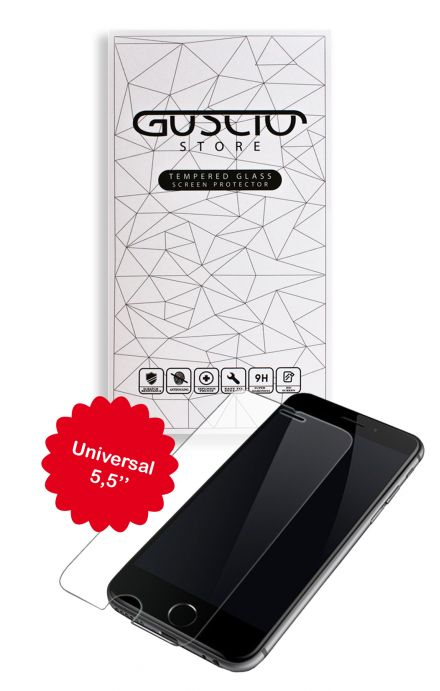 "Tempered Glass Universal 5,5"" - Neutro"