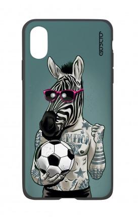 Cover Bicomponente Apple iPhone XS MAX - Zebra