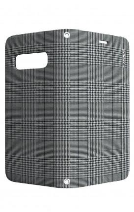 Case STAND VStyle Samsung S10e - Glen plaid