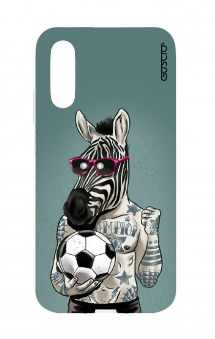 Cover TPU Huawei P20 - Zebra