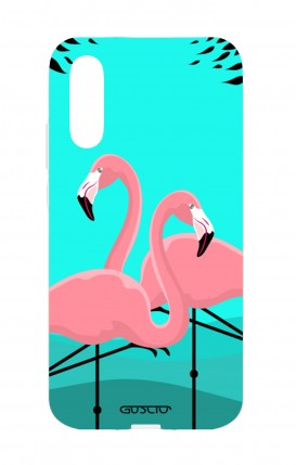 Cover Huawei P20 - Flamingos