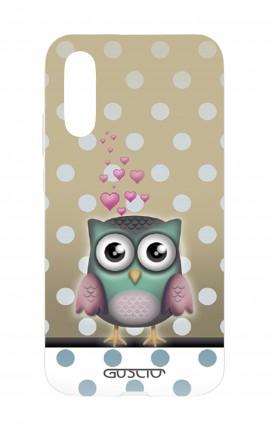 Cover Huawei P20 - Gufo e pois