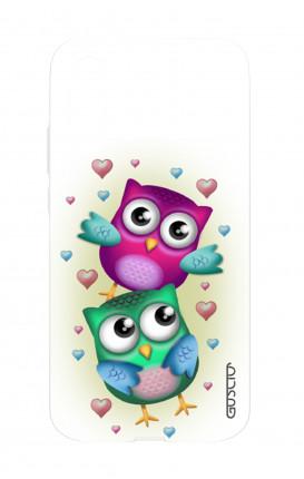 Cover TPU Huawei P20 - Coppia di gufi