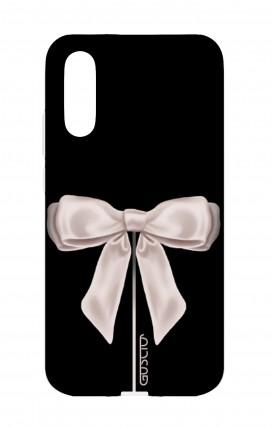 Cover Huawei P20 - Satin White Ribbon