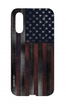 Cover Huawei P20 - Bandiera americana scura