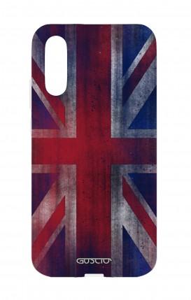 Cover Huawei P20 - Bandiera inglese vintage