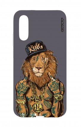 Cover Huawei P20 - Lion King grigio