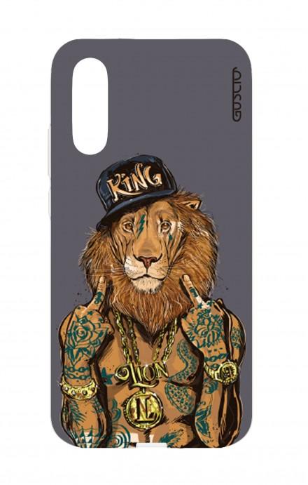 Cover TPU Huawei P20 - Lion King grigio
