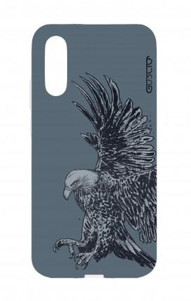 Cover Huawei P20 - Aquila blu