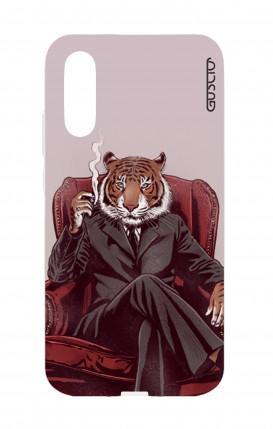 Cover Huawei P20 - Tigre elegante