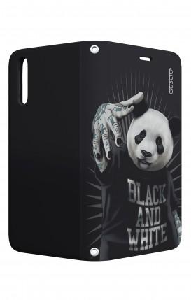 Case STAND Huawei P20 - B&W Panda