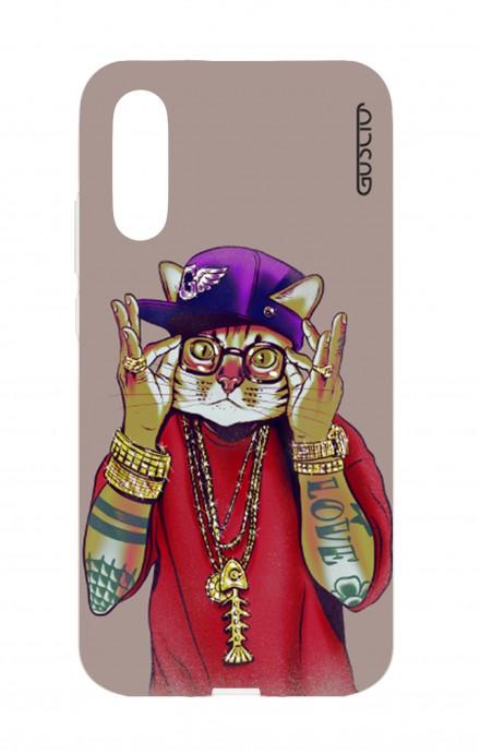 Cover TPU Huawei P20 - Gatto Rapper