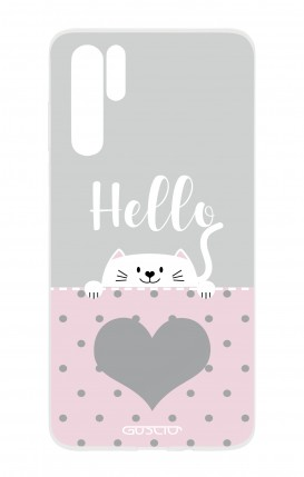 Cover HUAWEI P30 PRO - Hello Cat